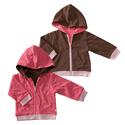 Babysoy reversible hoodie